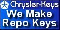Chrysler Keys, Chrysler Locksmith Service